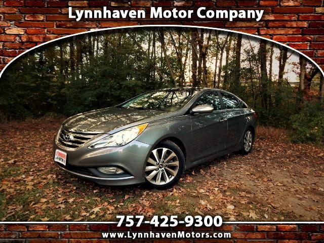 2014 Hyundai Sonata Limited w/ Navigation, Panorama Roof, Leather, 24k