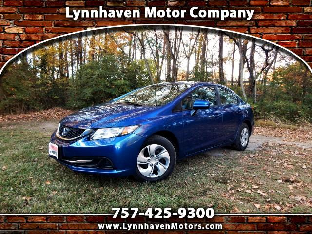 2014 Honda Civic LX w/Rear Camera, Bluetooth, 26k miles, 1 Owner!