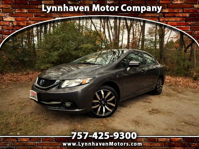 2014 Honda Civic EXL w/ Navigation, Leather Int.,Side & Rear Camera