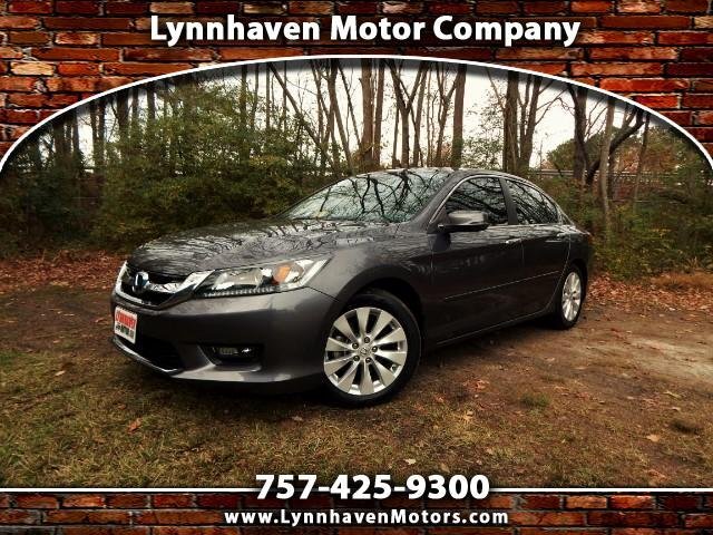2014 Honda Accord Side & Rear Cameras, Sunroof, 24k Miles, 1 Owner!