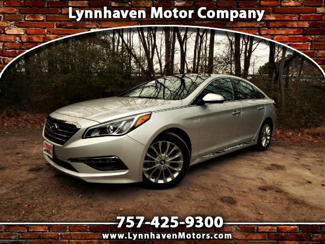 2015 Hyundai Sonata Limited, Navigation, Panorama Roof, Leather, 19k M