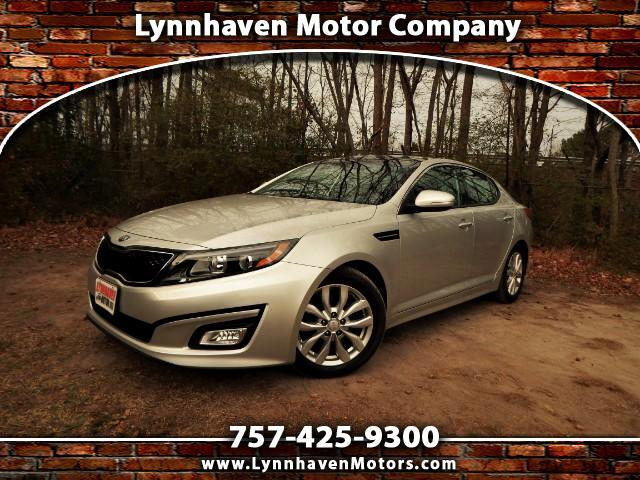 2015 Kia Optima Panorama Roof, Rear Camera, Leather Int, One Owner