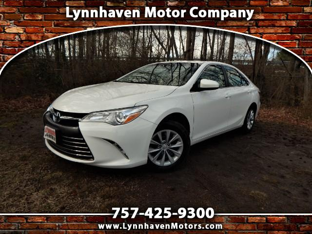 2016 Toyota Camry LE w/ Rear Camera, Bluetooth, One Owner, 23k Mis!