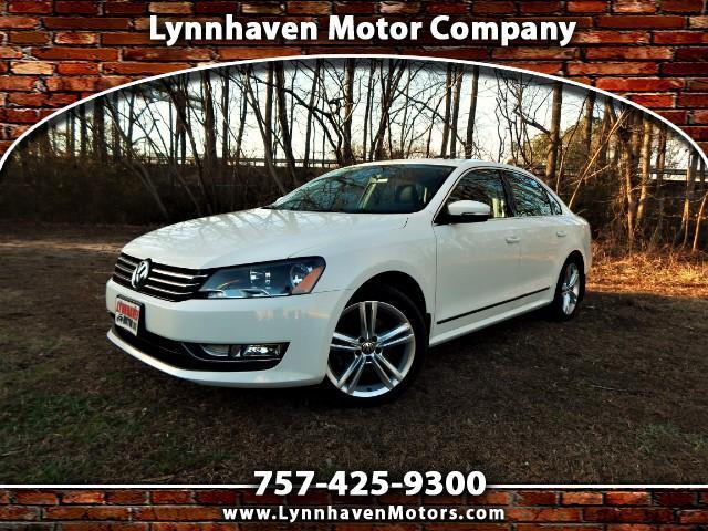 2015 Volkswagen Passat Navigation, Camera, Leather, Sunroof, 14k Miles!!