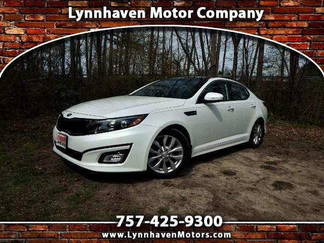 2015 Kia Optima Panorama Sunroof, Leather Interior, Camera, 22k MI