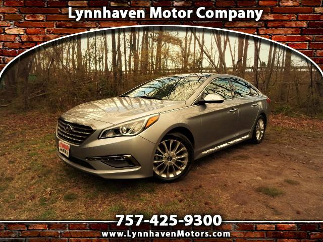 2015 Hyundai Sonata Panorama Roof, Navigation, Camera, Leather Int.!