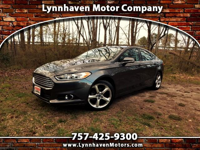 2015 Ford Fusion Power Sunroof, Rear Camera, One Owner, 23k Mis!!