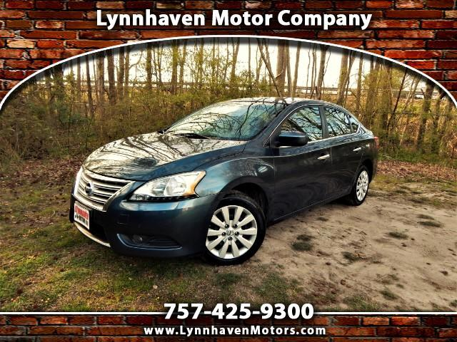 2014 Nissan Sentra SV w/ Keyless Push start, Bluetooth, Only 66k Mile