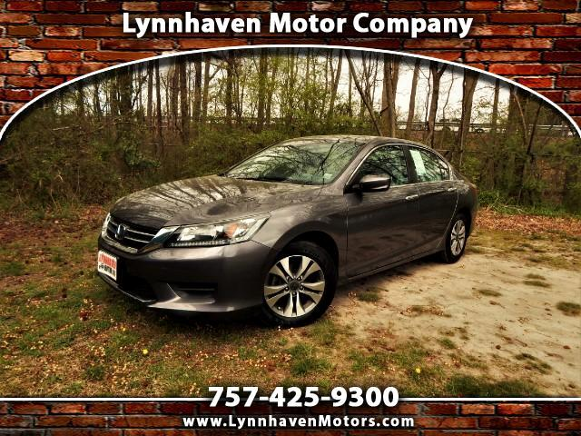 2015 Honda Accord Rear View Camera, Bluetooth, 24k Miles, One Owner!