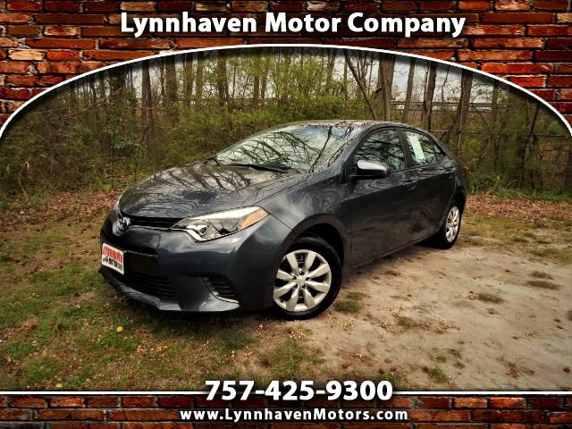 2016 Toyota Corolla Rear View Camera, Bluetooth, 24k Miles, 1 Owner!