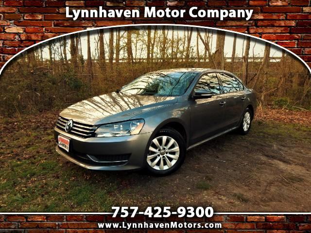 2014 Volkswagen Passat Wolfsburg w/ Leather Int., Bluetooth, 18k Miles!