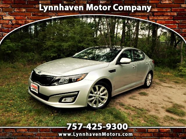 2014 Kia Optima Panoramic Roof, Rear Camera, Leather, Only 24k Mil