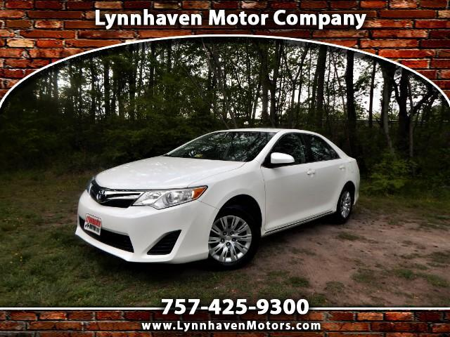 2014 Toyota Camry LE w/ Rear View Camera, Bluetooth, Only 18K Miles!