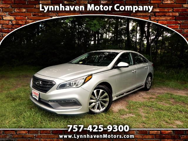 2015 Hyundai Sonata Sport w/ Rear Camera, Bluetooth, Heated Seats!