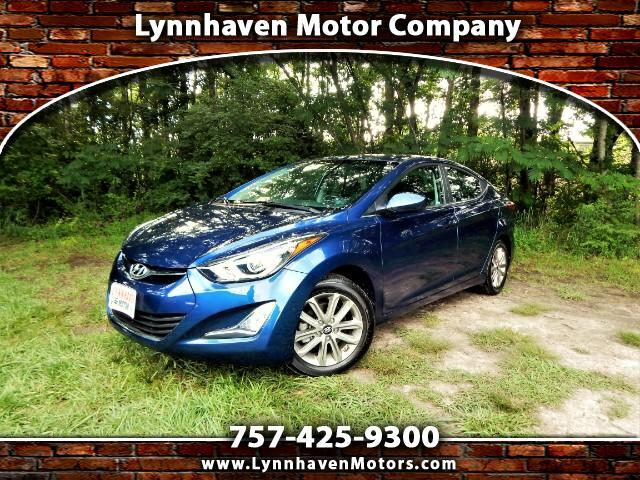 2015 Hyundai Elantra SE w/ Power Sunroof, Rear Camera, Only 14k Miles!