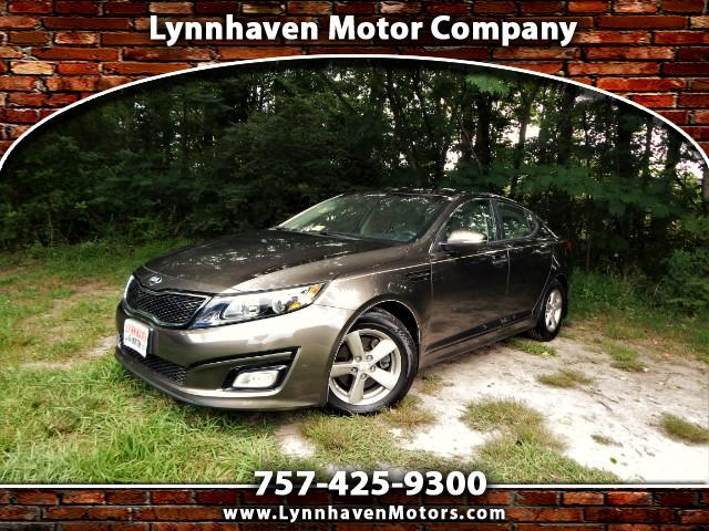 2014 Kia Optima LX w/ Rear Camera,Bluetooth, One Owner, 20K Miles!