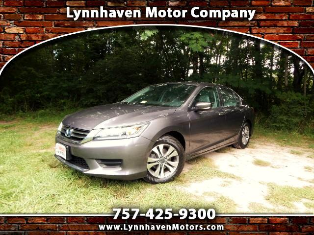 2014 Honda Accord LX Sedan w/ Rear Camera, Bluetooth, 1 Owner, 24k M