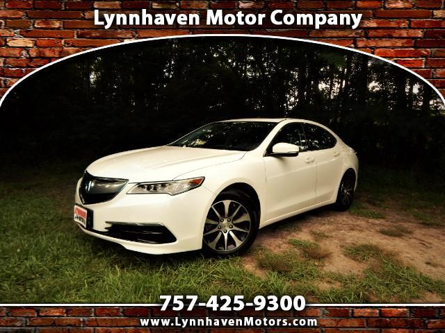 2015 Acura TLX Rear Camera, Leather Int., Sunroof, Bluetooth !