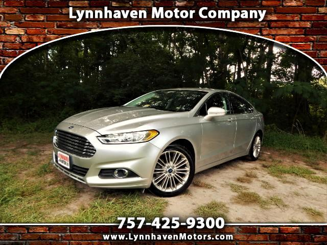 2014 Ford Fusion Navigation, Leather Interior, Rear camera, Power S