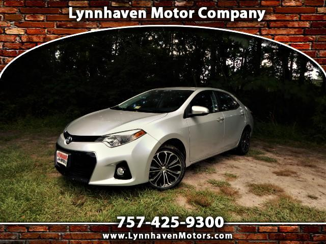 2014 Toyota Corolla S Premium w/ Power Sunroof, Rear Camera, Only 28k