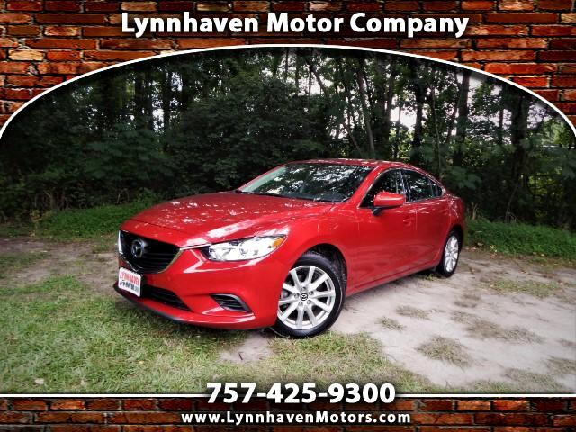 2015 Mazda MAZDA6 i Sport w/ Rear Camera, Bluetooth, Keyless Start,