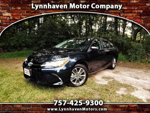 2015 Toyota Camry SE Navigation, Power Sunroof, Rear Camera, 21k Mil