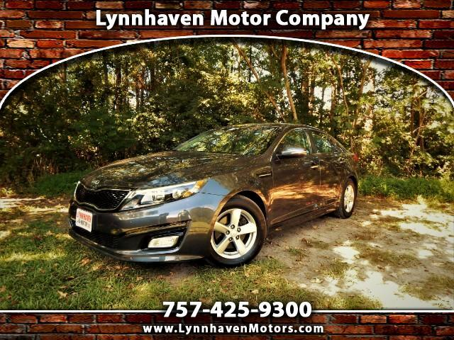 2015 Kia Optima LX w/ Rear Camera, Bluetooth, Only 27k Miles!