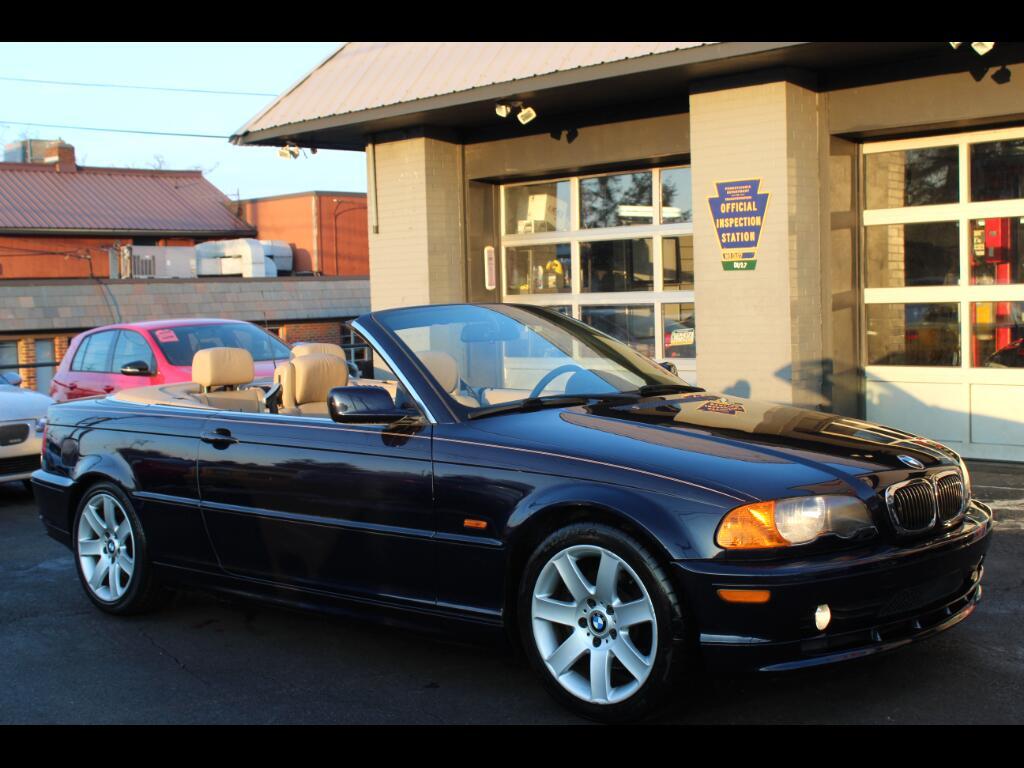 2001 BMW 3-Series 325Ci convertible