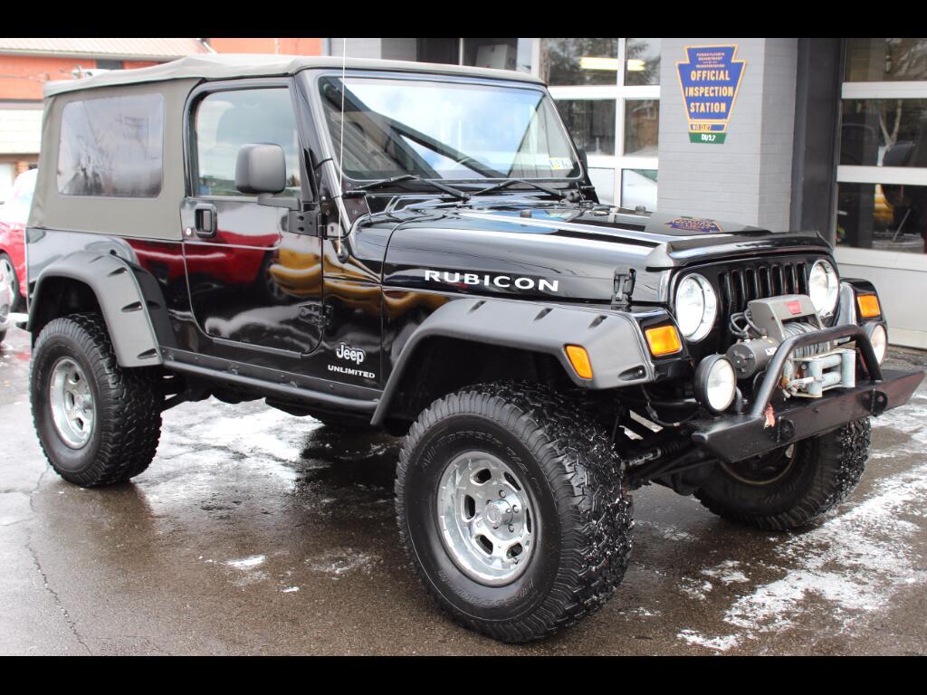 2005 Jeep Wrangler Unlimited Rubicon 4WD