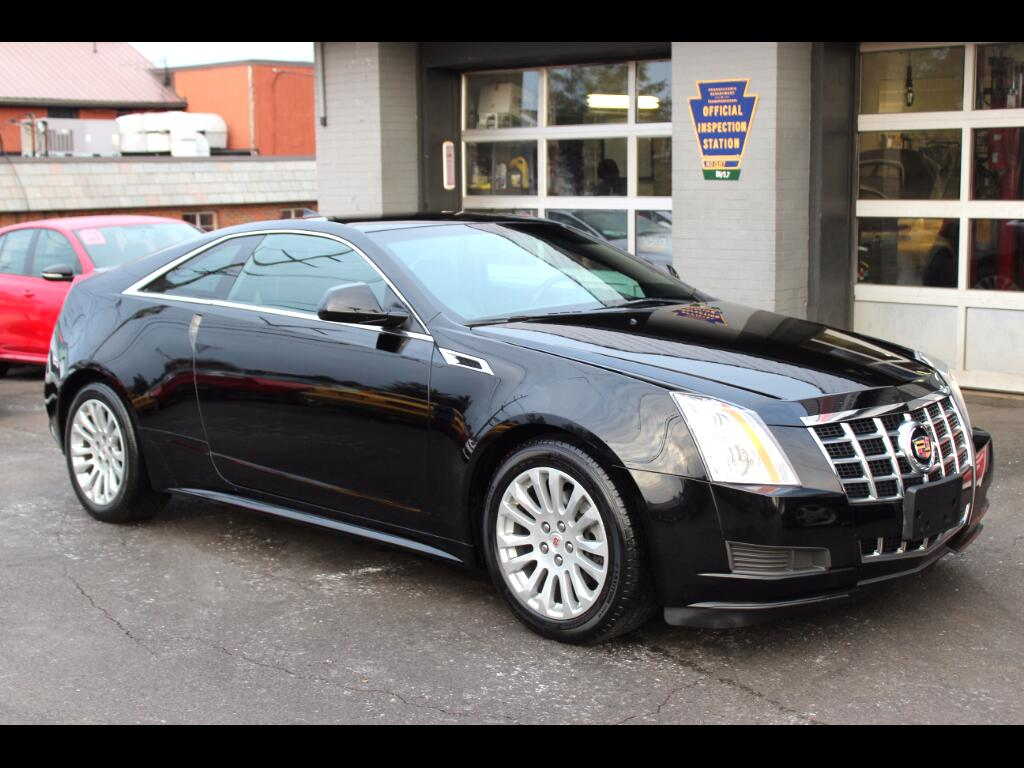 2014 Cadillac CTS Coupe 2dr Cpe AWD
