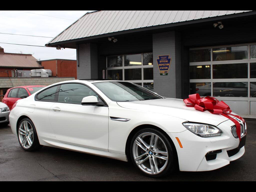2013 BMW 6-Series 650xi Coupe W/ M package