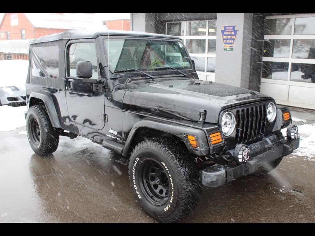 2004 Jeep Wrangler 2dr Unlimited LWB