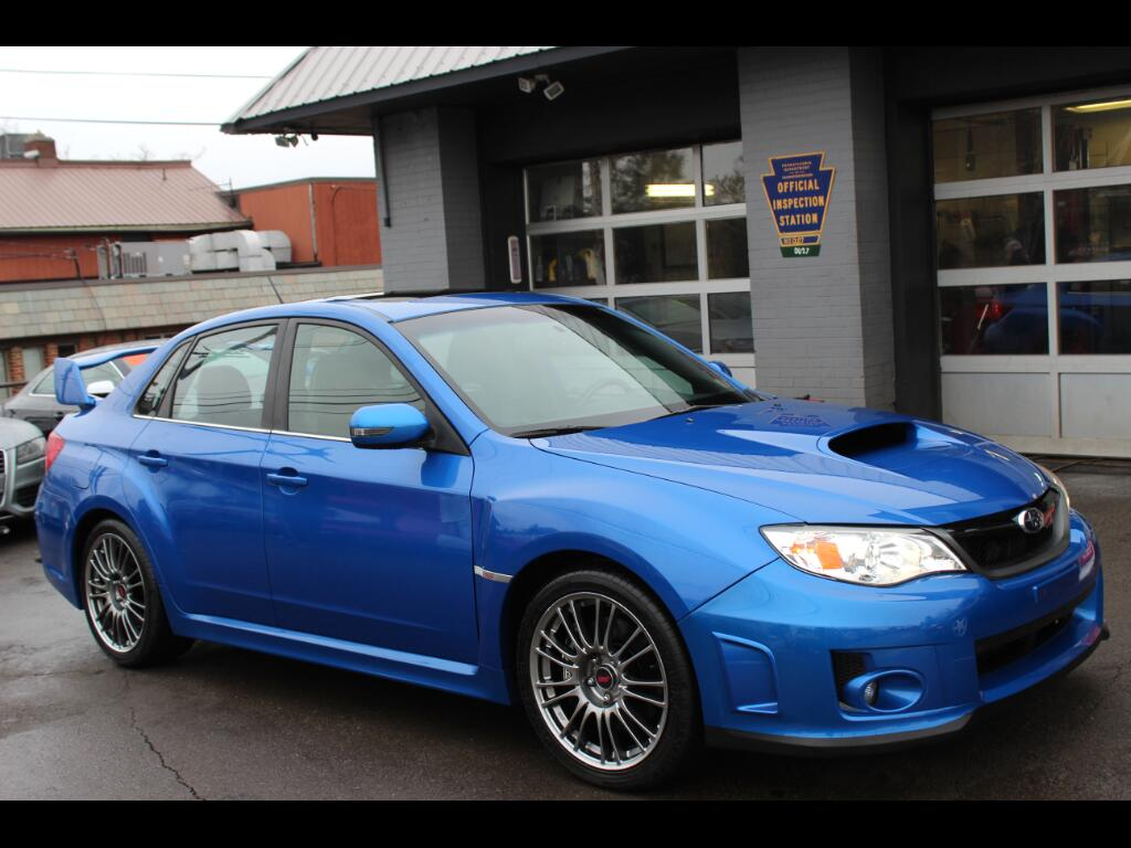 2012 Subaru Impreza WRX STI LIMITED 4 DOOR SEDAN