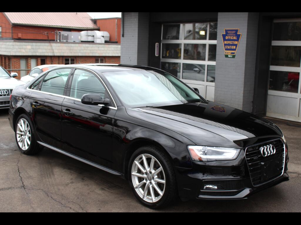 2014 Audi A4 2.0T PREMIUM PLUS SEDAN QUATTRO MANUAL