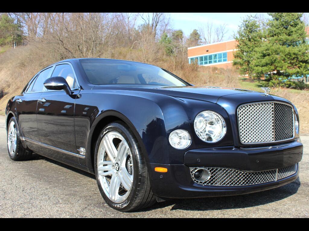 2011 Bentley Mulsanne Sedan