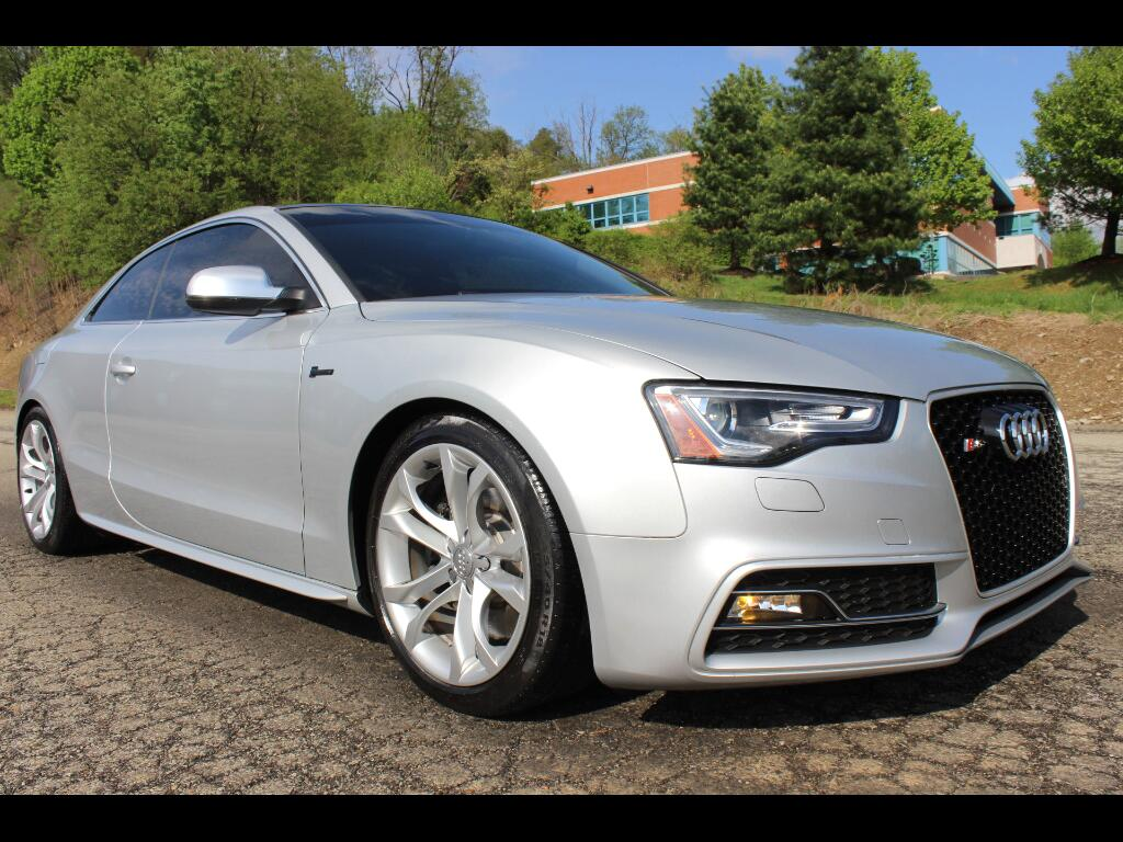 2013 Audi S5 3.0T Coupe quattro Manual