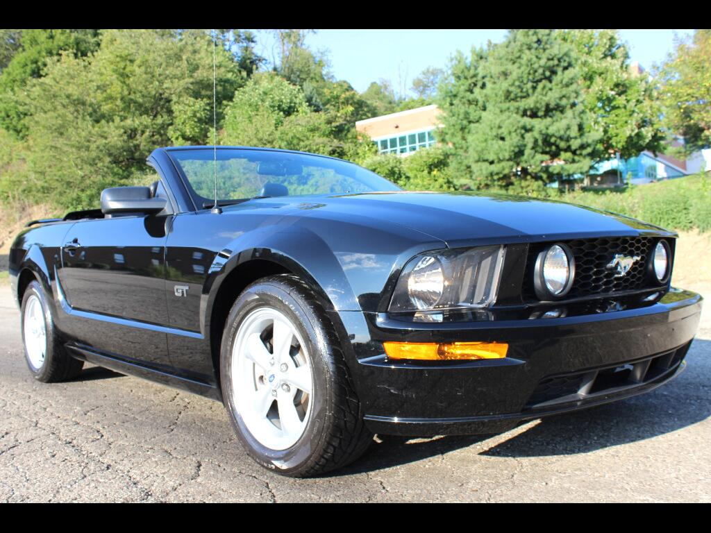2007 Ford Mustang GT Premium Convertible
