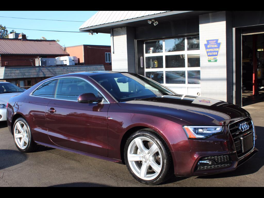2015 Audi A5 2.0T Premium Plus quattro 6M