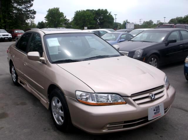 2002 Honda Accord EX Sedan with Side Curtain Airbags