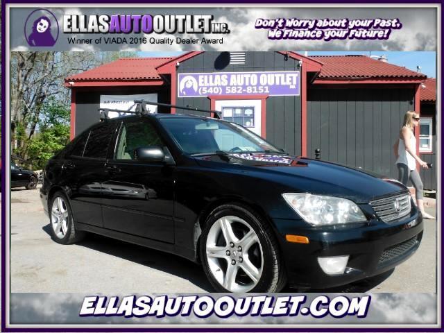 2001 Lexus IS 300 E-Shift Sedan