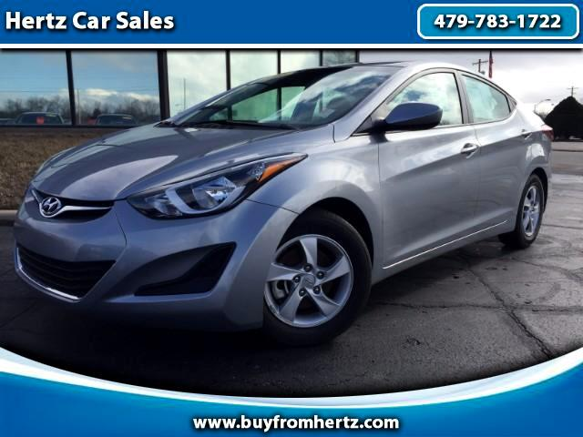 used 2015 hyundai elantra se 6at for sale in fort smith ar 72904 hertz car sales. Black Bedroom Furniture Sets. Home Design Ideas