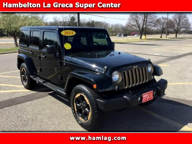 2014 Jeep Wrangler Unlimited Sahara 4WD Dragon Edition