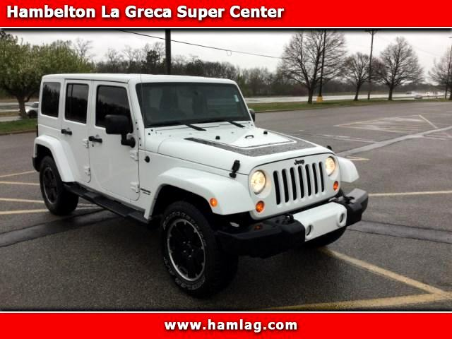 2012 Jeep Wrangler Unlimited Sahara Altitude Edition 4x4