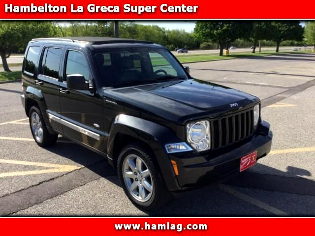 2012 Jeep Liberty Latitude 4WD with Sky Roof
