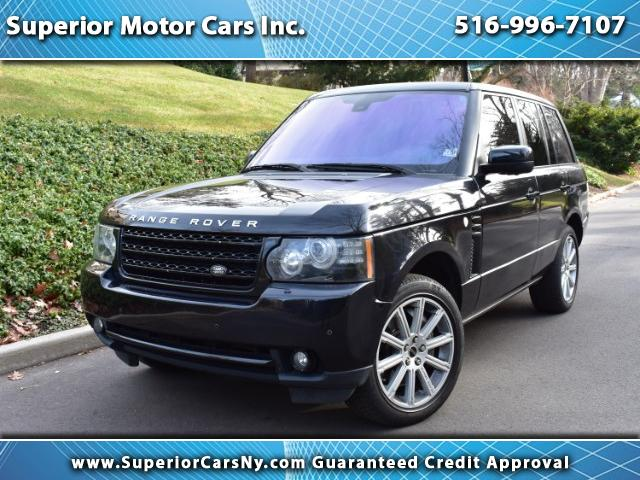 2012 Land Rover Range Rover Supercharged CPO