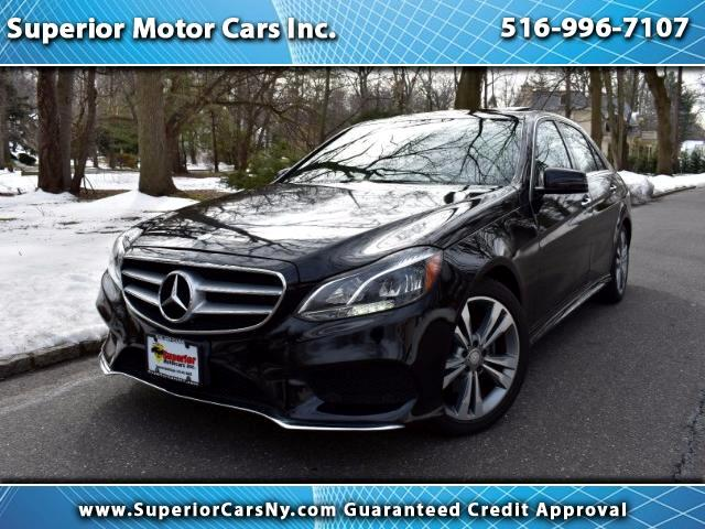 2014 Mercedes-Benz E-Class E350 4MATIC Sedan Sport