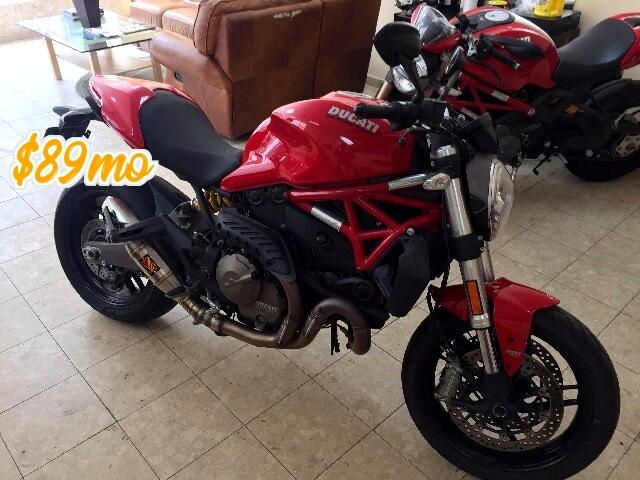2015 Ducati Monster 821 S