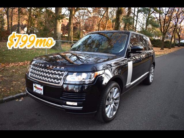 2014 Land Rover Range Rover 5.0L V8 Supercharged LWB