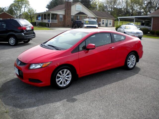 2012 Honda Civic Ex Coupe AT