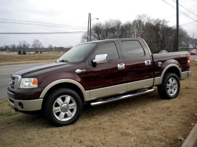 2008 Ford F-150 King Ranch SuperCrew Short Bed 4WD